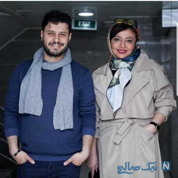 غیرتی شدن جواد عزتی برای زنش در خیابان