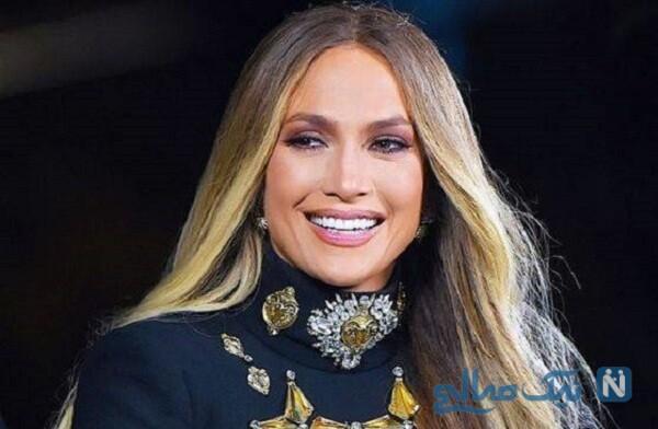 لباس زیبا و سیندرلایی جنیفر لوپز خواننده معروف برای سال نو میلادی ۲۰۲۱