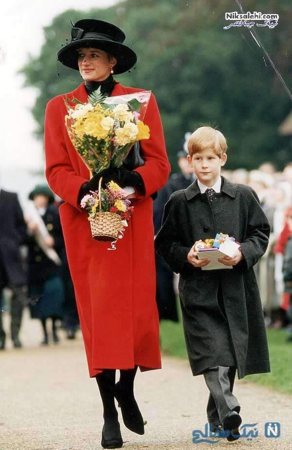 پرنس هری و مادرش