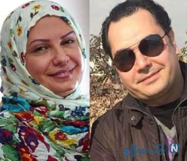 تصویری از لعیا زنگنه و همسرش
