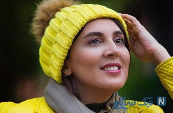 لیلا بلوکات بازیگر سریال از سرنوشت در کنار دوستان دندانپزشکش
