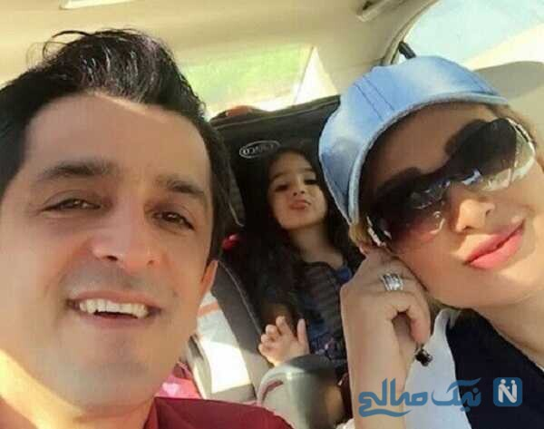 همسر و دختر مجید یاسر