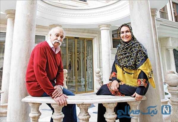 مهوش صبر کن و همسرش