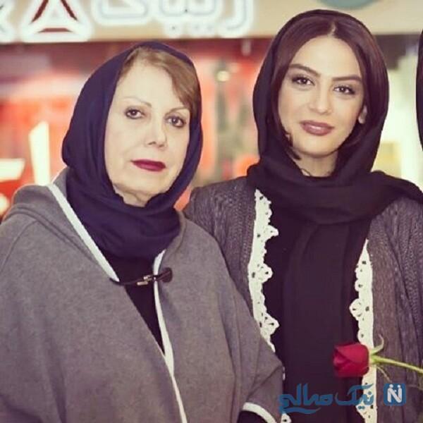 عکس جدید مارال فرجاد و مادرش