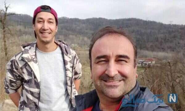 بهرام افشاری و مهران احمدی