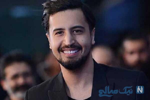 تبریک تولد جالب مهرداد صدیقیان بازیگر سریال رقص روی شیشه برای برادرش