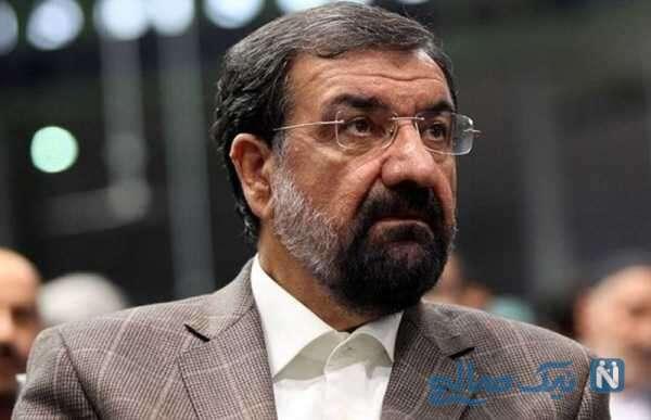 تغییر چهره محسن رضایی و تاکسی سواری در تهران