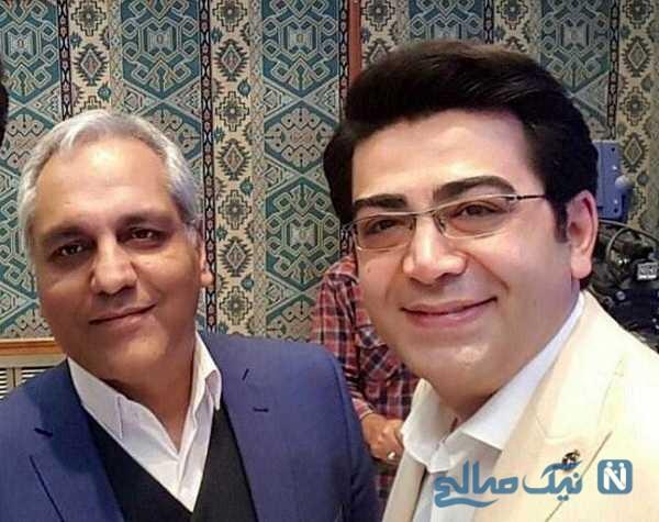 مهران مدیری و فرزاد حسنی