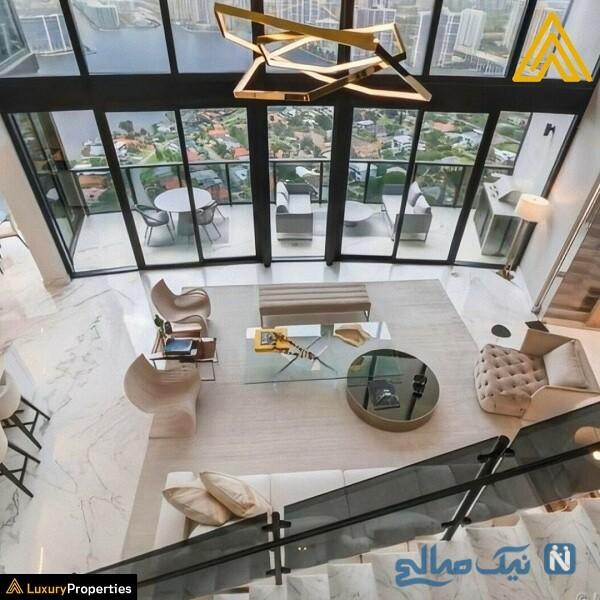 آپارتمان مسی زیبا و لاکچری