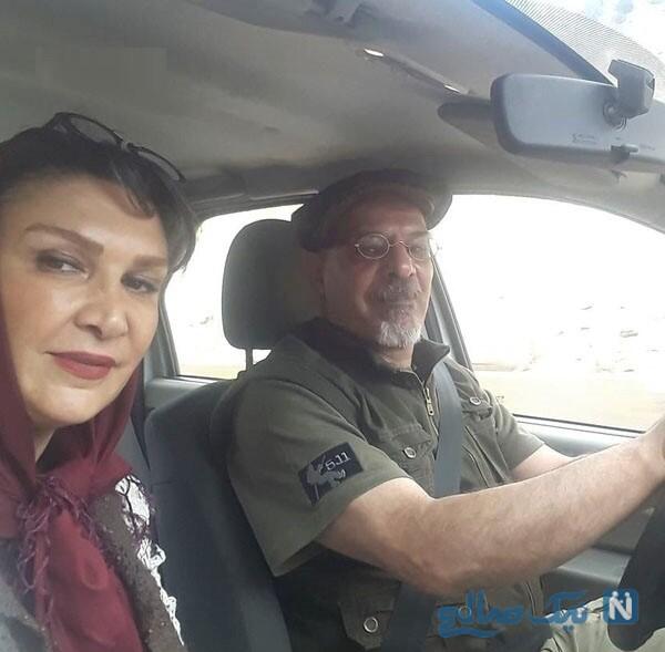 تصاویر مینا نوروزی و همسرش