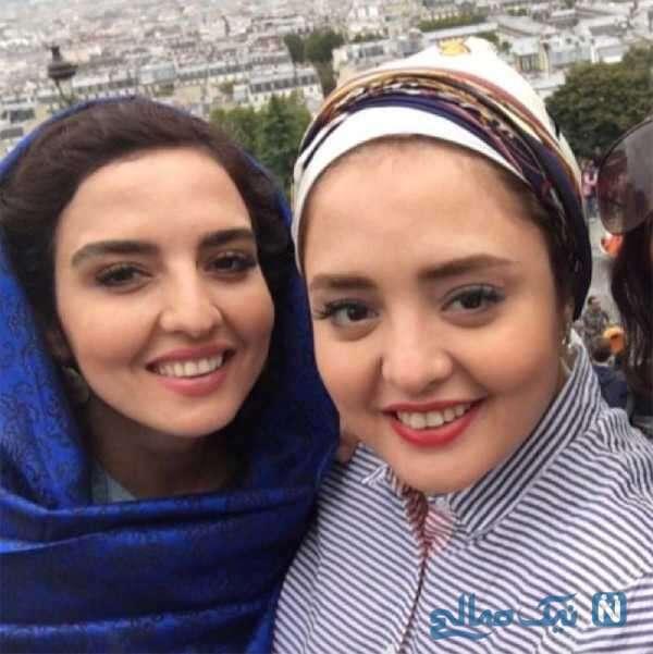 تصویری از نرگس محمدی خواهرش