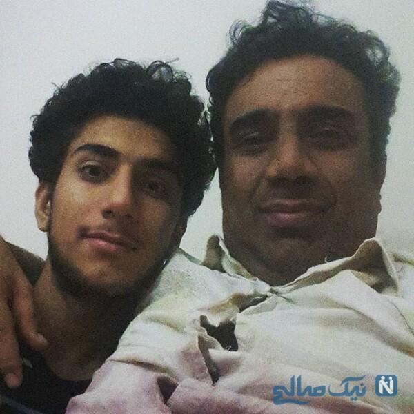 نصرالله رادش و پسرش پرهام