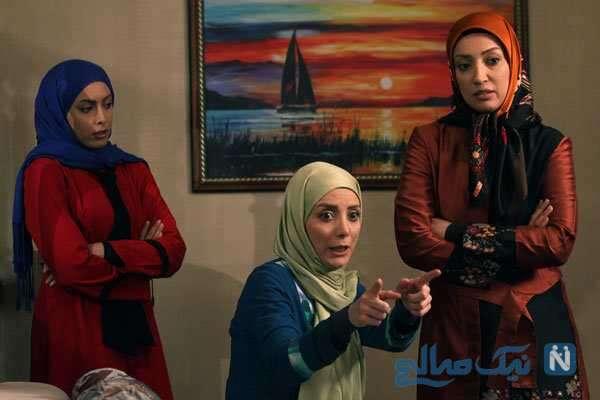خانم های بازیگر در سریال شمعدونی