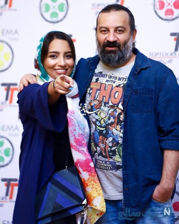 عکس جدید نیرانا قاسم خانی و پدرش