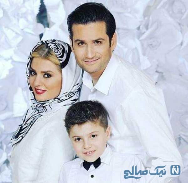 عکس جدید پویا امینی و خانواده اش