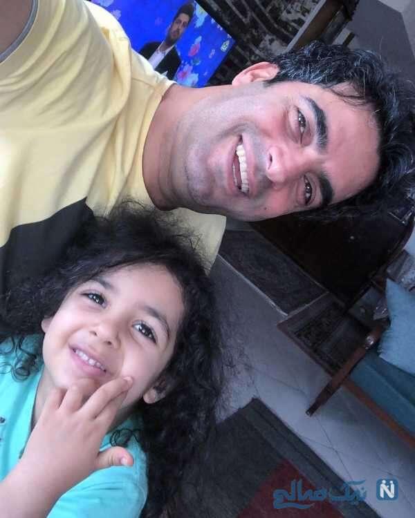 عکس منوچهر هادی و دخترش