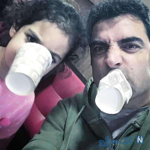 شیطنت های منوچهر هادی و دخترش