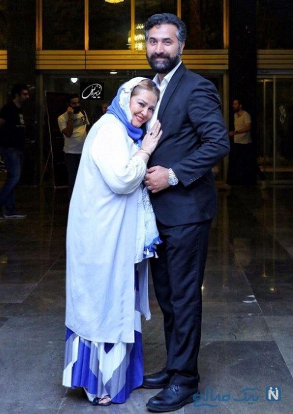 عکس بهاره رهنما بازیگر و همسرش