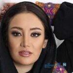 استایل جدید بهاره افشاری بازیگر معروف با چکمه های عجیبش