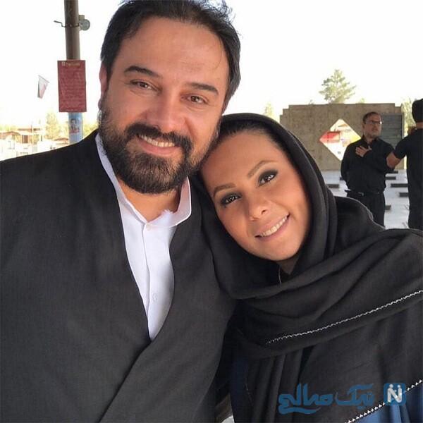 بازیگر معروف و همسرش