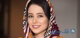 سلفی جالب الناز حبیبی بازیگر سریال دوپینگ با خواهرش