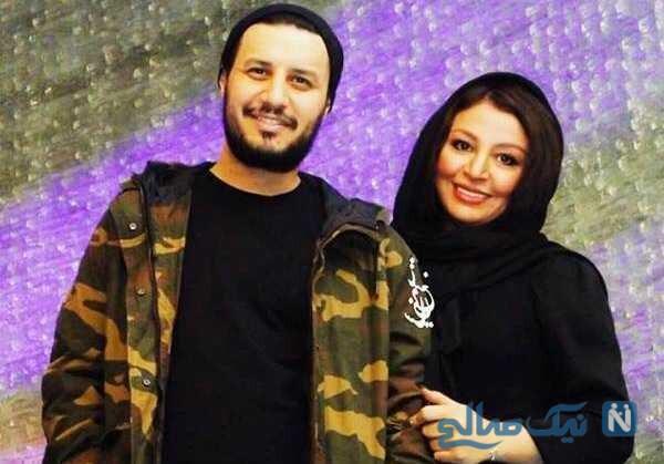 عکس جواد عزتی و همسرش مه لقا باقری