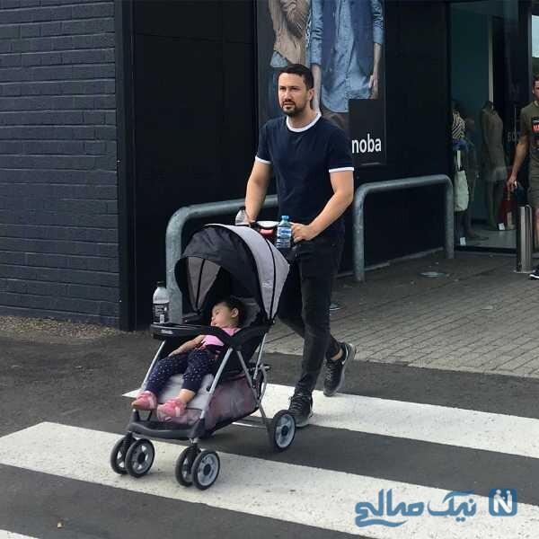 جدیدترین عکس شاهرخ استخری در بلژیک