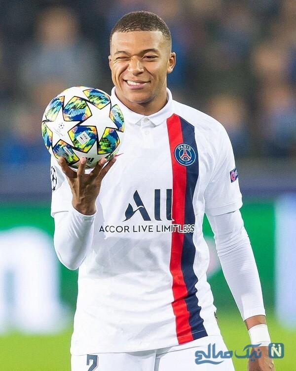 تصاویر کیلیان امباپه فوتبالیست مشهور