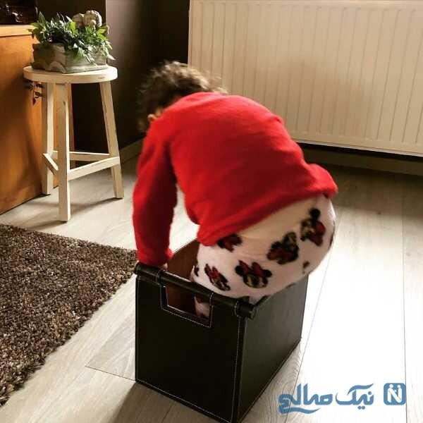 شیطنت های دختر آقای بازیگر