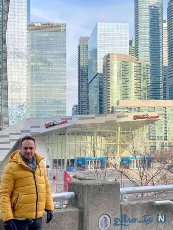 شهروز ابراهیمی در کانادا
