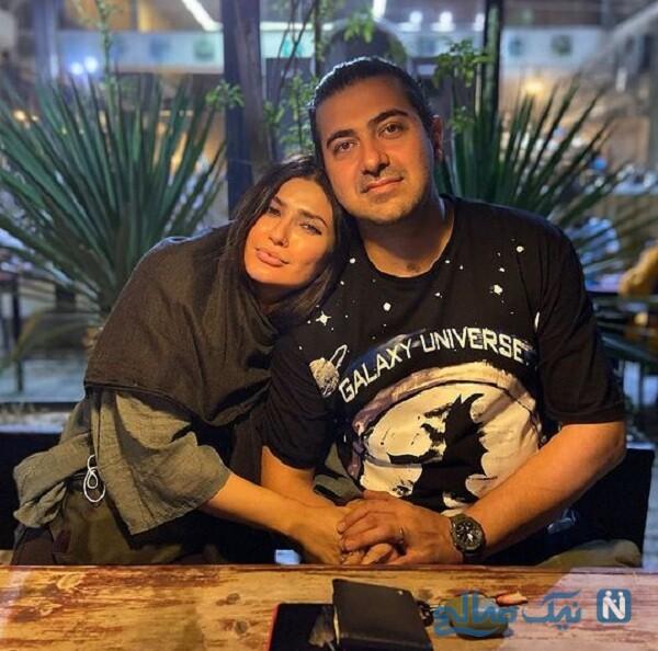 جدیدترین تصاویر شیوا طاهری و همسرش