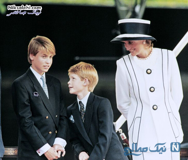 هری و ویلیام و مادرشان