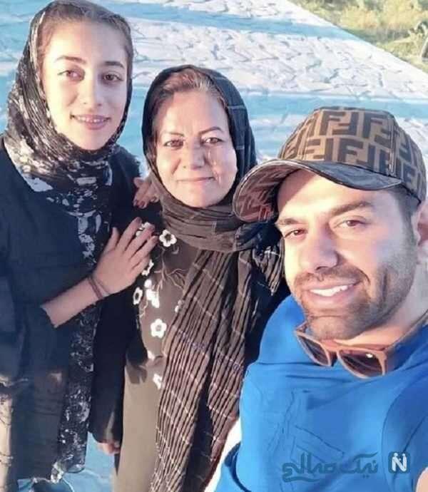 مادر و خواهر خواننده ایرانی