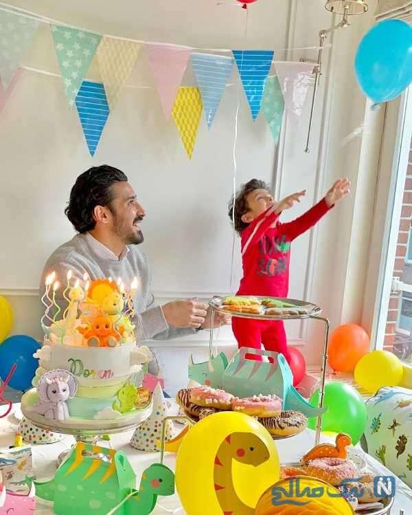 جشن تولد 3 سالگی دوران