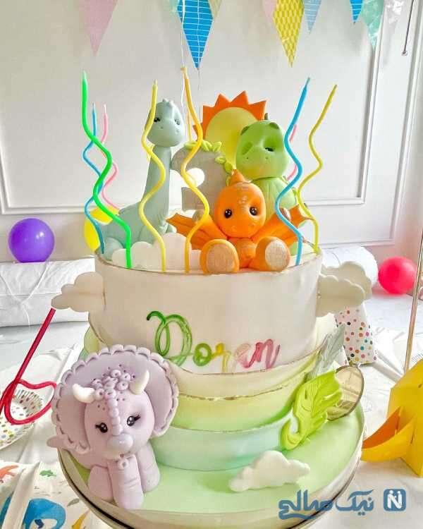 کیک تولد خاص دوران