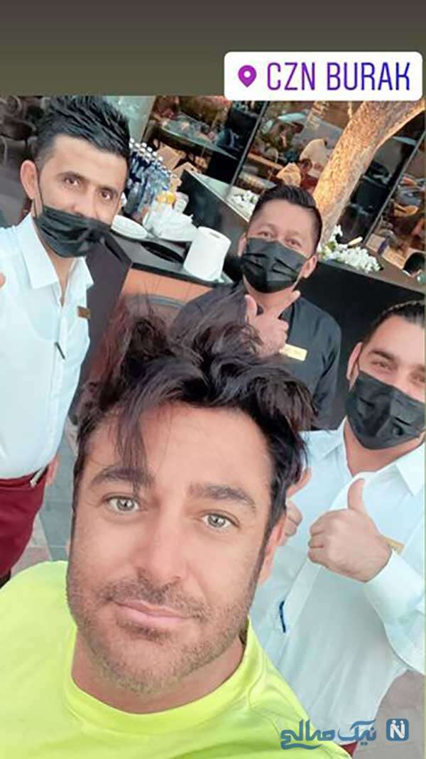 بازیگر مرد در دبی