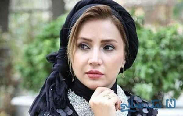 سلفی جالب شبنم قلی خانی بازیگر معروف در ماشین لوکس اش