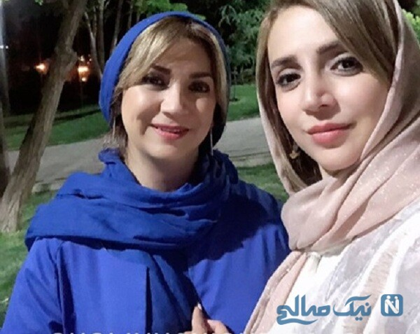 تصویری جالب از شبنم قلی خانی با خواهرش