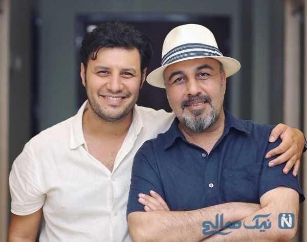 رضا عطاران و جواد عزتی