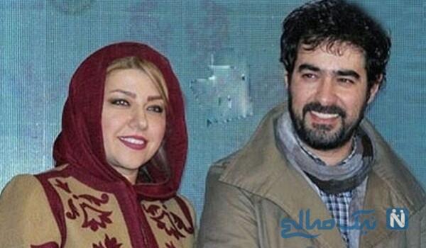 تبریک شهاب حسینی به همسرش پریچهر قنبری