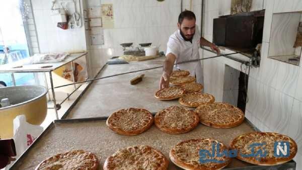 حرکت جنجالی شاطر نانوایی