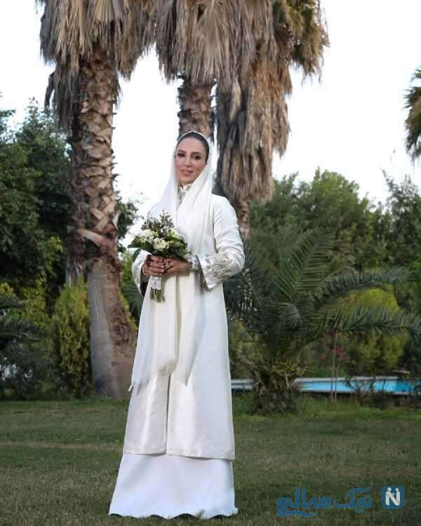 لباس عروس سوگل طهماسبی بازیگر