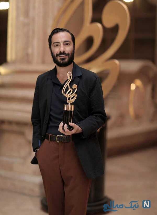 استایل نوید محمدزاده در جشنواره حافظ
