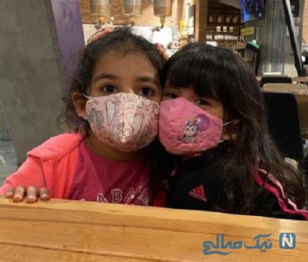 پست اینستاگرام یکتا ناصر و تصویری از دختر و خواهرزاده خانم بازیگر