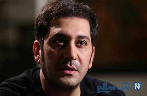 اسب سواری وحید شیخ زاده هنگام فیلمبرداری رقص کلاغ ها