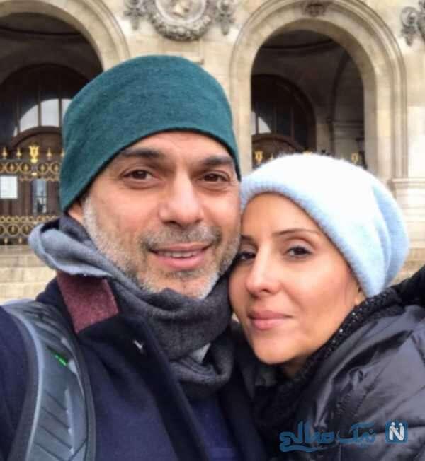 تبریک تولد پیمان معادی به همسرش