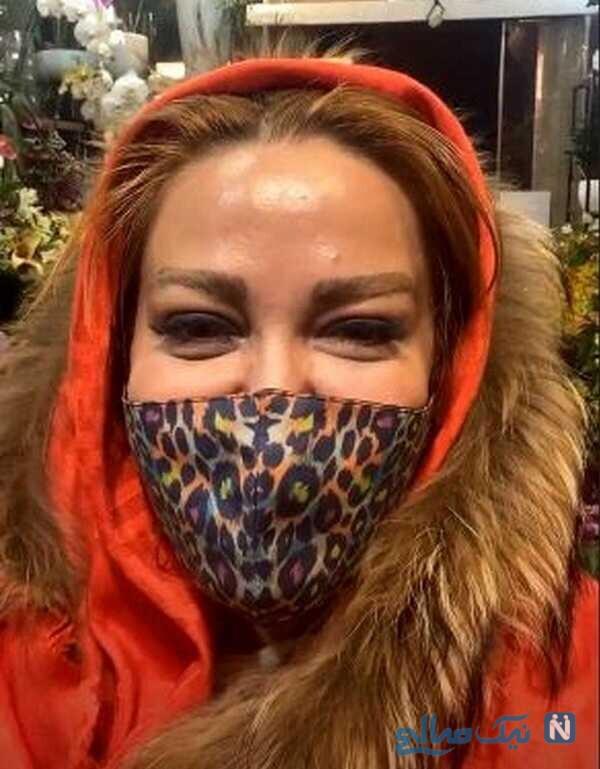 تیپ زمستانی بهاره رهنما بازیگر