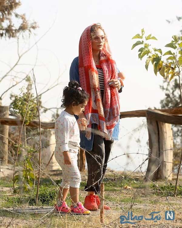یکتا ناصر و دخترش سوفیا هادی