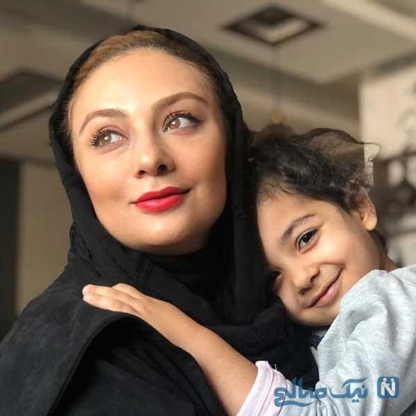 یکتا ناصر و دخترش سوفیا