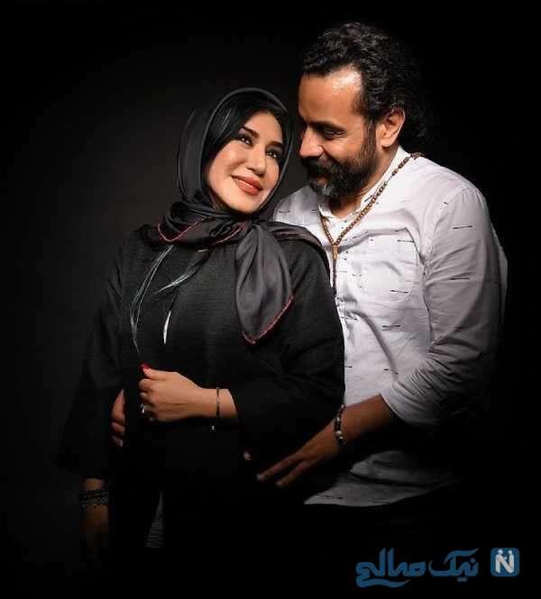 نسیم ادبی و همسر مرحومش